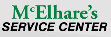 Shop Tires & Auto Service with McElhare's Service Center